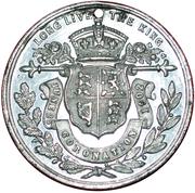 Medal - George VI and Elizabeth Coronation – reverse