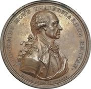 Medal - Admiral Earl Howe (Naval victory, Glorious First of June) – obverse