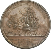 Medal - Admiral Earl Howe (Naval victory, Glorious First of June) – reverse