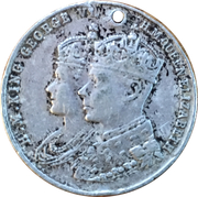 Medal - George VI and Elizabeth (To Commemorate The Festival of Britain) – obverse