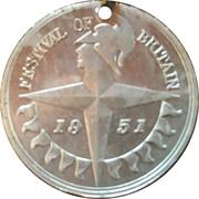 Medal - Festival of Britain borough of Portadown – obverse