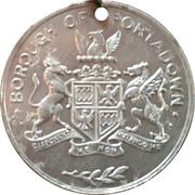 Medal - Festival of Britain borough of Portadown – reverse