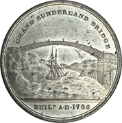 Medal - Great Sunderland Bridge Lottery – obverse