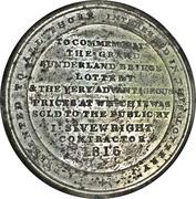 Medal - Great Sunderland Bridge Lottery – reverse