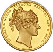 Medal - William IV - Coronation – obverse