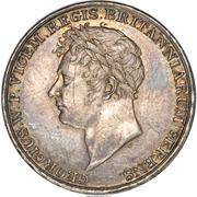 Medal - Prince Regent George - Waterloo Bridge Dedication – obverse
