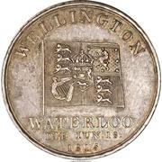 Medal - Prince Regent George - Waterloo Bridge Dedication – reverse