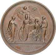 Medal - William Wilberforce – reverse