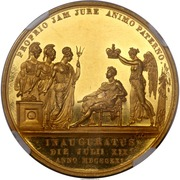 Medal - George IV Coronation – reverse