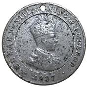 Medallion - Edward VIII Coronation – obverse