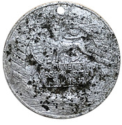 Medallion - Edward VIII Coronation – reverse