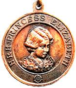Medal - George VI & Queen Elizabeth Crowned 1937 – reverse