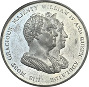 Medal - Coronation of William IV – obverse