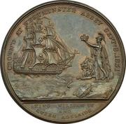 Medal - Coronation of William IV – reverse