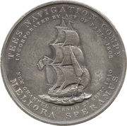 Medal - Opening of the New Channel to Newport – obverse