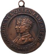 Medal - George VI Coronation (Princess Elizabeth) – obverse