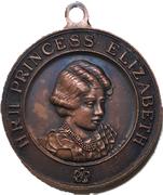 Medal - George VI Coronation (Princess Elizabeth) – reverse