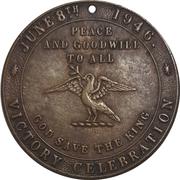 Medal -  Victory Celebration (June 8th 1946) – obverse