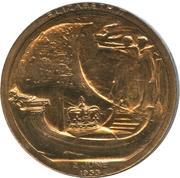 Medallion - Elizabeth II Coronation – reverse