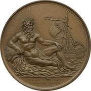 Medal - British Army on the Scheldt – obverse