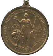 Medal - Elizabeth II Coronation – reverse