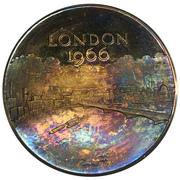 Medal - Great London Fire Tercentenary – reverse