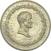 Medal - Burial of Napoleon Bonaparte – obverse