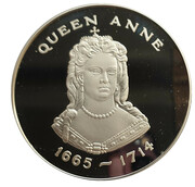 Medal - Queens of the British Isle (Queen Anne) -  obverse