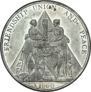 Medal - Unification of Great Britain and Ireland – obverse