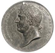 Medal - George IV Coronation (Bolton) – obverse