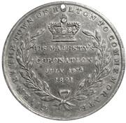 Medal - George IV Coronation (Bolton) – reverse