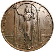 Medal - George VI & Elizabeth Coronation (Britannia) – reverse