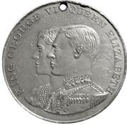 Medallion - George VI & Elizabeth Coronation – obverse