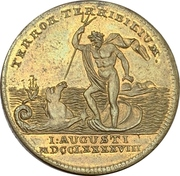 Medal - Nelson's naval victory at Aboukir – reverse