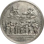 Medal - George III (King death, Allegory Matthew 25:21) – reverse