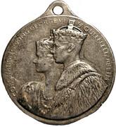 Medallion - George VI & Elizabeth Coronation (Britannia) – obverse