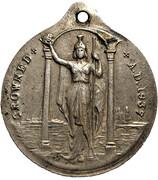 Medallion - George VI & Elizabeth Coronation (Britannia) – reverse