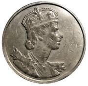 Medal - Elizabeth II (Coronation at Westminster Abbey) – obverse