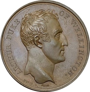 Medal - Passage of the Douro – obverse