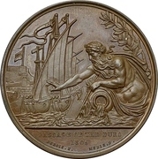 Medal - Passage of the Douro – reverse