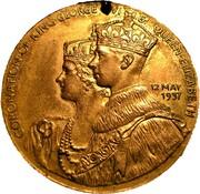 Medal - George VI & Elizabeth Coronation (Sutton Coldfield) – obverse