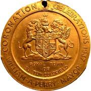 Medal - George VI & Elizabeth Coronation (Sutton Coldfield) – reverse