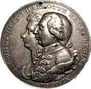 Medal - George III & Charlotte (Grand National Jubilee) – obverse