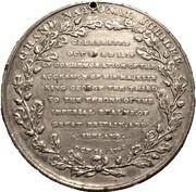 Medal - George III & Charlotte (Grand National Jubilee) – reverse