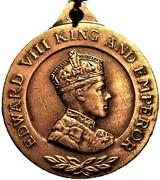 Medallion - Edward VIII Coronation (Britannia) – obverse