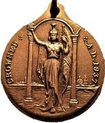 Medallion - Edward VIII Coronation (Britannia) – reverse