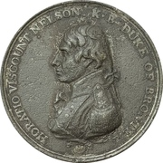 Medal - Admiral Nelson, Boulton's Trafalgar Medal – obverse