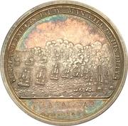 Medal - Admiral Nelson, Boulton's Trafalgar Medal – reverse