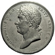 Medal - George IV Coronation – obverse