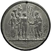 Medal - George IV (Royal visit to Scotland) – reverse